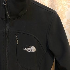 North Face Soft Shell Jacket: Black